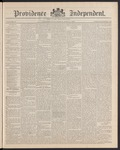 Providence Independent, V. 15, Thursday, April 3, 1890, [Whole Number: 772]