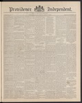 Providence Independent, V. 15, Thursday, May 15, 1890, [Whole Number: 778] by Providence Independent