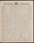 Providence Independent, V. 16, Thursday, June 12, 1890, [Whole Number: 782] by Providence Independent