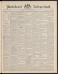 Providence Independent, V. 16, Thursday, September 25, 1890, [Whole Number: 797]
