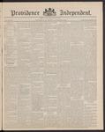 Providence Independent, V. 16, Thursday, October 23, 1890, [Whole Number: 801]
