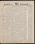 Providence Independent, V. 16, Thursday, October 30, 1890, [Whole Number: 802]