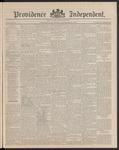 Providence Independent, V. 16, Thursday, November 6, 1890, [Whole Number: 803]