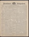 Providence Independent, V. 16, Thursday, November 13, 1890, [Whole Number: 804]