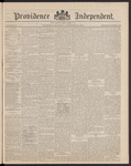 Providence Independent, V. 16, Thursday, November 20, 1890, [Whole Number: 805]