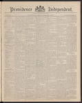 Providence Independent, V. 16, Thursday, December 4, 1890, [Whole Number: 807]