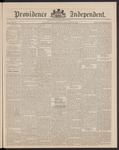 Providence Independent, V. 16, Thursday, January 15, 1891, [Whole Number: 813]