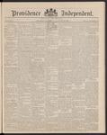 Providence Independent, V. 16, Thursday, January 29, 1891, [Whole Number: 815]