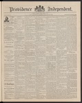 Providence Independent, V. 16, Thursday, March 26, 1891, [Whole Number: 823]