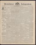Providence Independent, V. 16, Thursday, April 9, 1891, [Whole Number: 825]