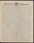 Providence Independent, V. 16, Thursday, April 30, 1891, [Whole Number: 828]
