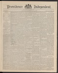 Providence Independent, V. 16, Thursday, May 14, 1891, [Whole Number: 830]