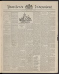 Providence Independent, V. 16, Thursday, May 28, 1891, [Whole Number: 832]