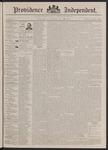 Providence Independent, V. 17, Thursday, July 30, 1891, [Whole Number: 841]