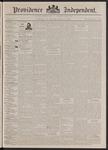 Providence Independent, V. 17, Thursday, October 8, 1891, [Whole Number: 851]