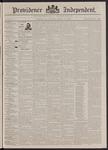 Providence Independent, V. 17, Thursday, October 15, 1891, [Whole Number: 852]