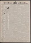 Providence Independent, V. 17, Thursday, October 22, 1891, [Whole Number: 853]