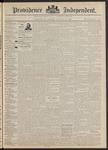 Providence Independent, V. 17, Thursday, November 19, 1891, [Whole Number: 857]