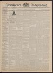 Providence Independent, V. 17, Thursday, November 26, 1891, [Whole Number: 858]