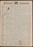 Providence Independent, V. 17, Thursday, December 10, 1891, [Whole Number: 860]