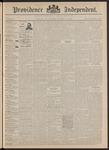 Providence Independent, V. 17, Thursday, December 31, 1891, [Whole Number: 863]