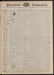 Providence Independent, V. 17, Thursday, April 7, 1892, [Whole Number: 877]