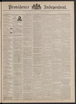 Providence Independent, V. 17, Thursday, May 19, 1892, [Whole Number: 883]