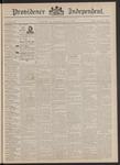 Providence Independent, V. 18, Thursday, July 14, 1892, [Whole Number: 891]