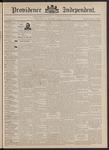 Providence Independent, V. 18, Thursday, September 15, 1892, [Whole Number: 900]
