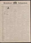 Providence Independent, V. 18, Thursday, December 15, 1892, [Whole Number: 913] by Providence Independent