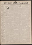 Providence Independent, V. 18, Thursday, January 12, 1893, [Whole Number: 917] by Providence Independent