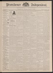 Providence Independent, V. 18, Thursday, January 19, 1893, [Whole Number: 918] by Providence Independent