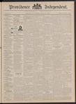Providence Independent, V. 18, Thursday, March 30, 1893, [Whole Number: 928] by Providence Independent
