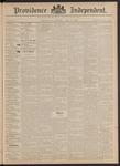 Providence Independent, V. 18, Thursday, April 27, 1893, [Whole Number: 932]