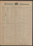 Providence Independent, V. 20, Thursday, September 13, 1894, [Whole Number: 1003]
