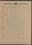 Providence Independent, V. 20, Thursday, September 20, 1894, [Whole Number: 1004]