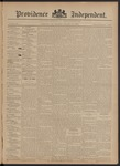 Providence Independent, V. 20, Thursday, October 18, 1894, [Whole Number: 1008]