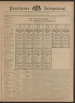 Providence Independent, V. 20, Thursday, November 1, 1894, [Whole Number: 1010]