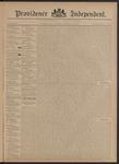 Providence Independent, V. 20, Thursday, November 8, 1894, [Whole Number: 1011]