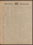 Providence Independent, V. 20, Thursday, November 22, 1894, [Whole Number: 1013]
