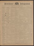 Providence Independent, V. 20, Thursday, December 6, 1894, [Whole Number: 1015]