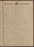 Providence Independent, V. 20, Thursday, December 13, 1894, [Whole Number: 1016]