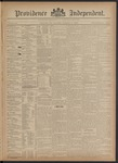 Providence Independent, V. 20, Thursday, February 7, 1895, [Whole Number: 1024]
