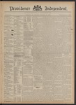 Providence Independent, V. 20, Thursday, February 14, 1895, [Whole Number: 1025]