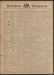 Providence Independent, V. 20, Thursday, March 7, 1895, [Whole Number: 1029]