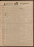 Providence Independent, V. 21, Thursday, June 6, 1895, [Whole Number: 1041]