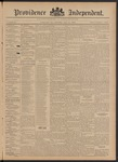 Providence Independent, V. 21, Thursday, July 11, 1895, [Whole Number: 1046]