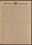 Providence Independent, V. 21, Thursday, September 5, 1895, [Whole Number: 1054]