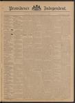 Providence Independent, V. 21, Thursday, September 26, 1895, [Whole Number: 1057]