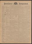 Providence Independent, V. 21, Thursday, October 3, 1895, [Whole Number: 1058]
